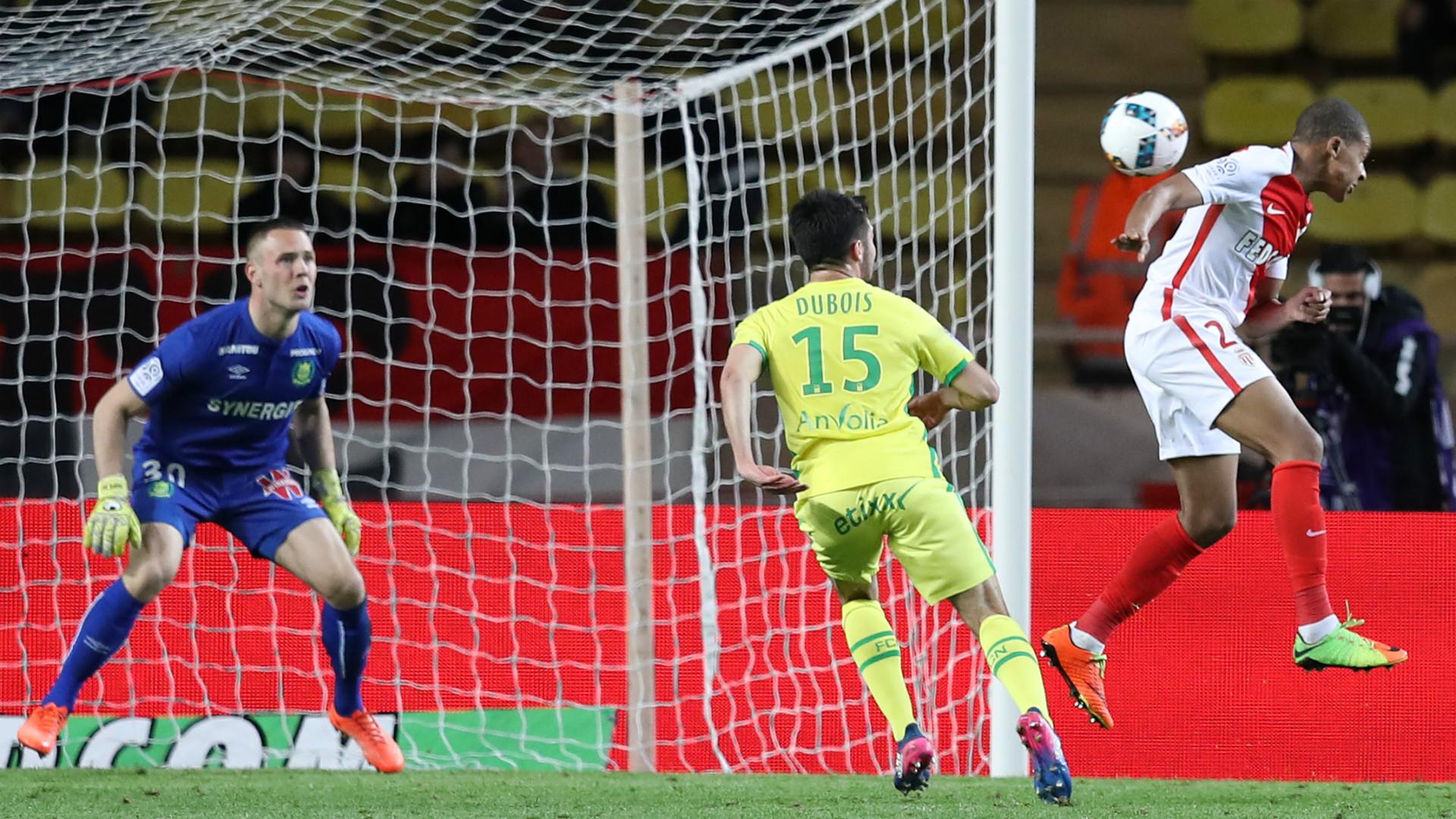 Kylian Mbappe Monaco Ligue 1