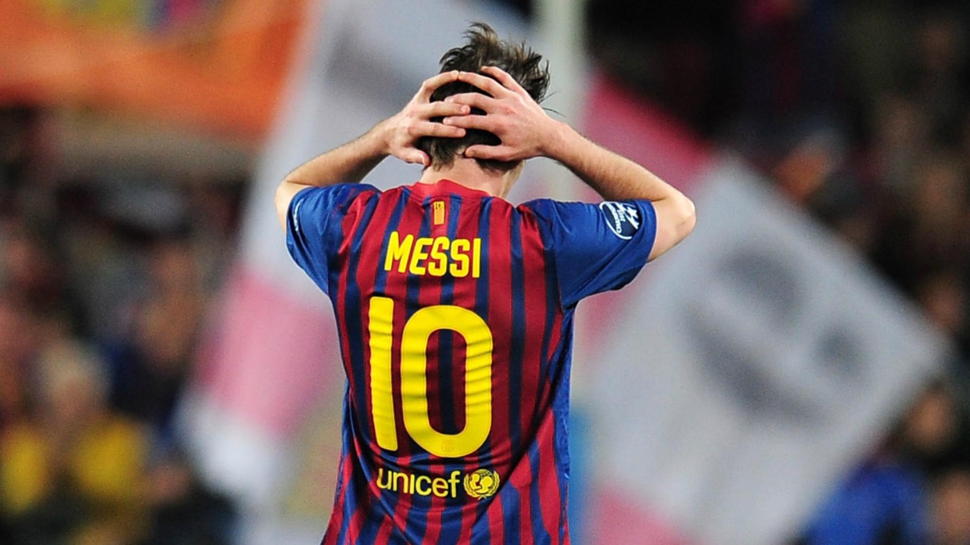 Lionel Messi Barcelona Chelsea 2012
