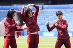 女足世界杯 凹造型