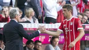 Jupp Heynckes Thomas Müller FC Bayern München