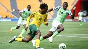 Percy Tau, Kenneth Omeruo - South Africa vs. Nigeria