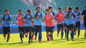 Indian team training