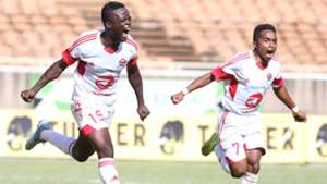 Gor Mahia striker Ephrem Gukan from Ghana.
