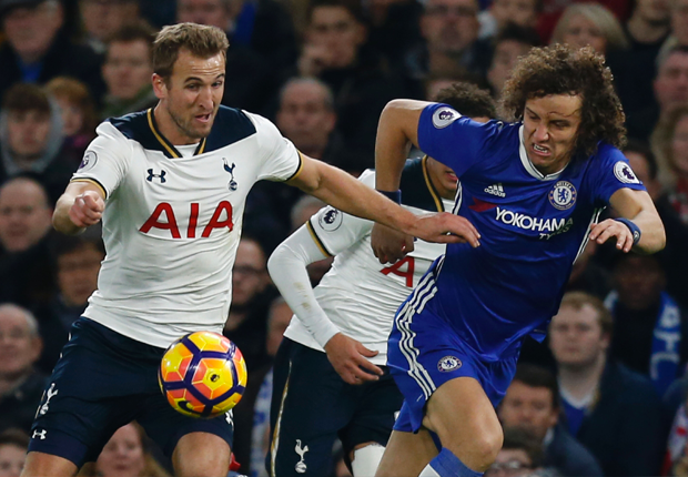 David Luiz and Harry Kane