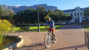 Shuaib walters cycling, cape town city fc