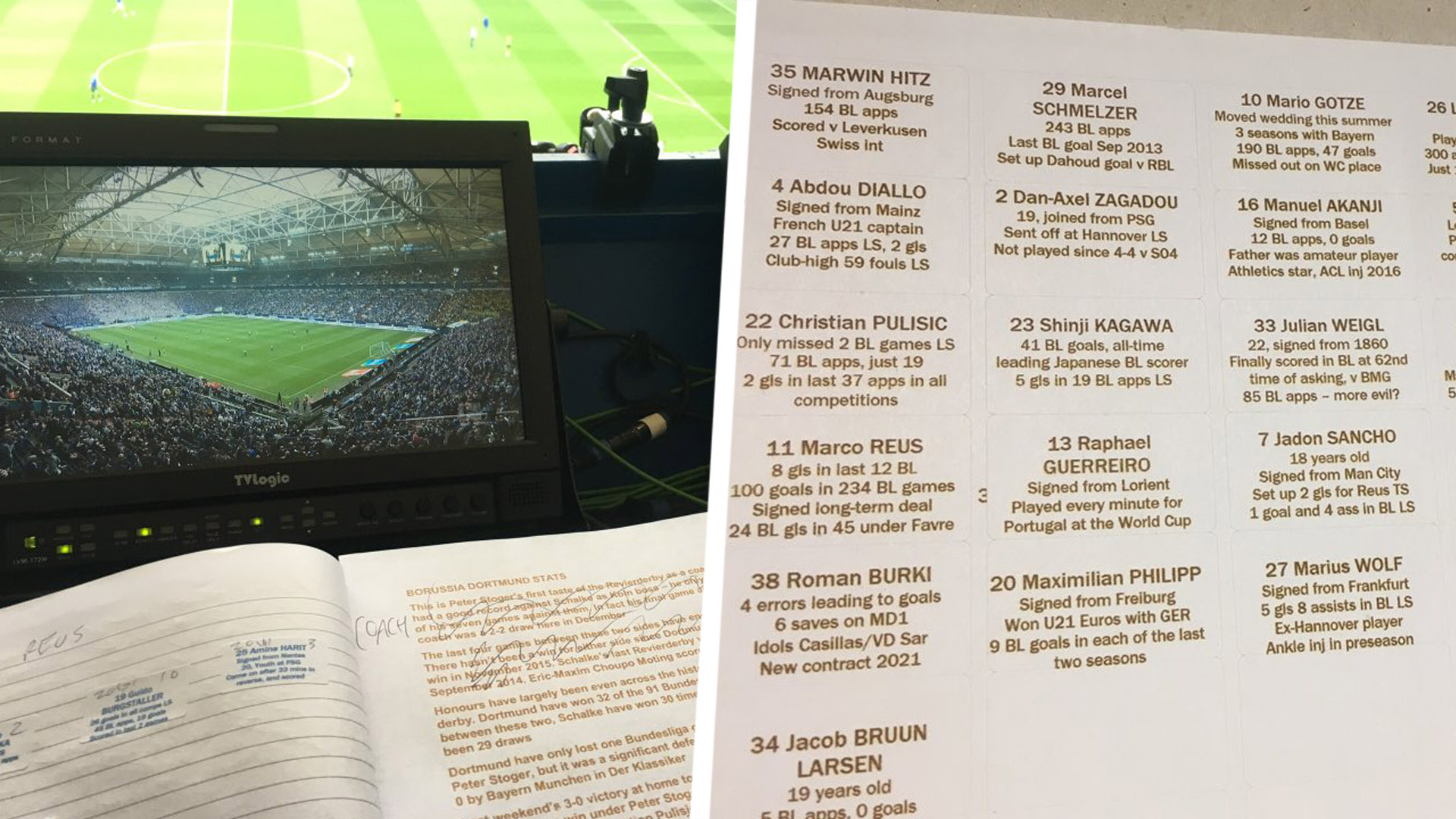 Commentator's notes