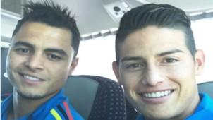 James Rodríguez y Gio Moreno - Colombia