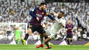 Lionel Messi Dani Carvajal Real Madrid Barcelona LaLiga 02032019