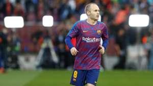 Andres Iniesta Barcelona Real Madrid El Clasico LaLiga 06052018