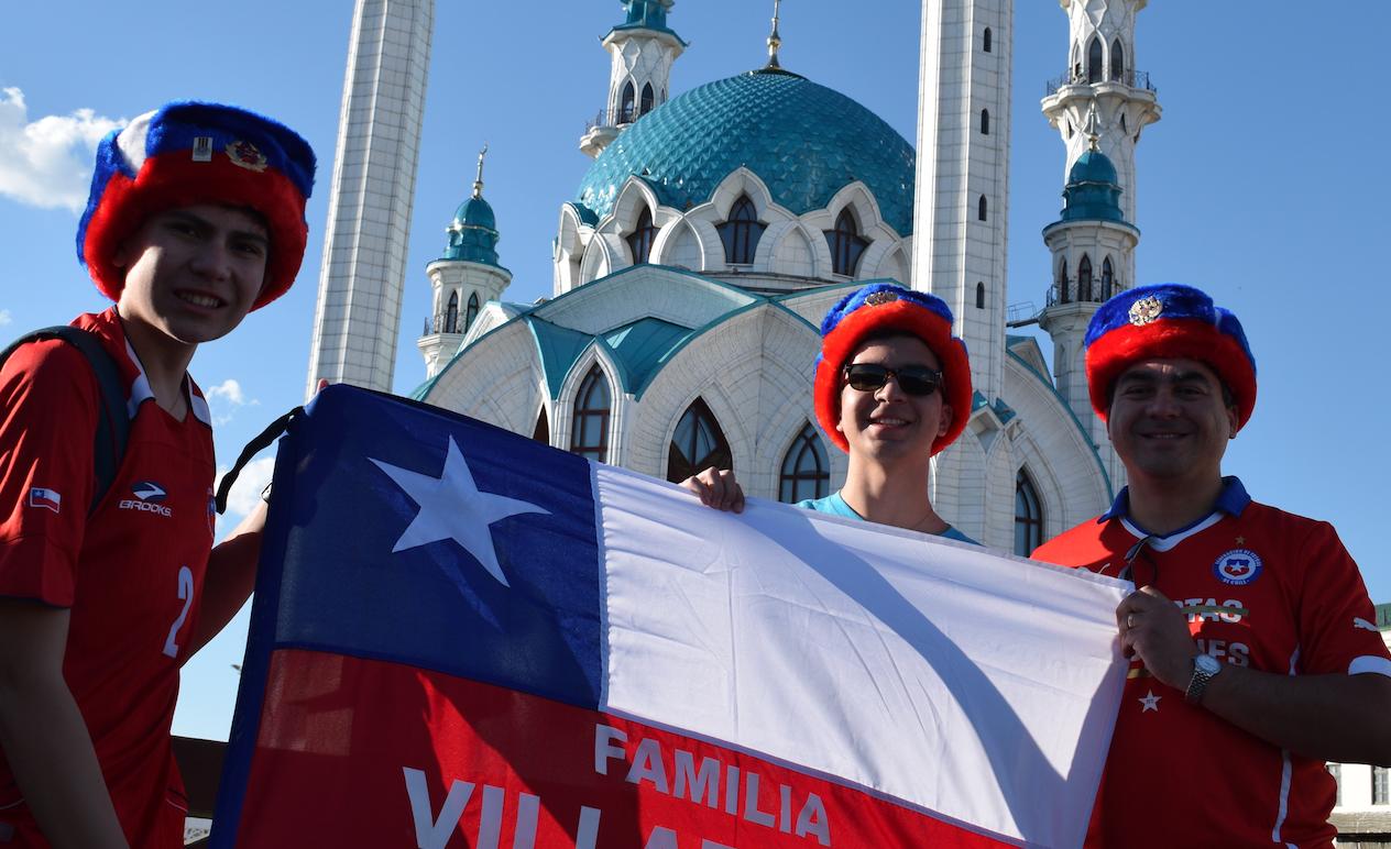 Confederations Cup 2017 - Chilean fans
