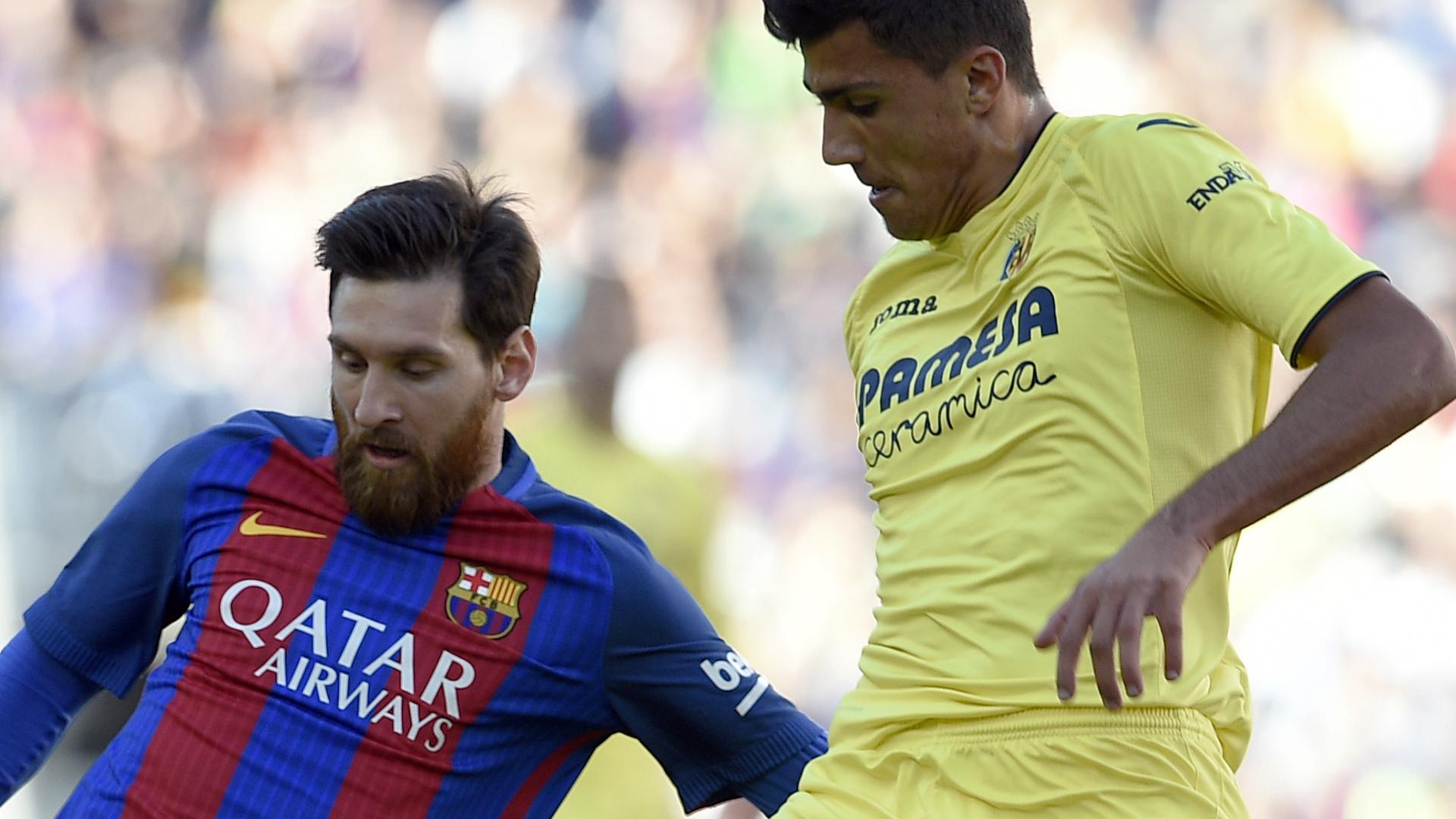 Lionel Messi Rodrigo Hernandez Barcelona Villarreal LaLiga 06052017