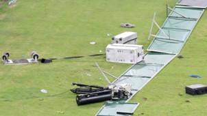 Moses Mabhida Stadium damages, April 2018