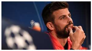 Gerard Pique Manchester United Barcelona Champions League