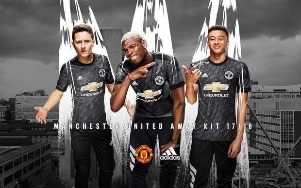 Manchester United away kit 2017-18