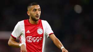 Hakim Ziyech steers Ajax Amsterdam past VVV-Venlo