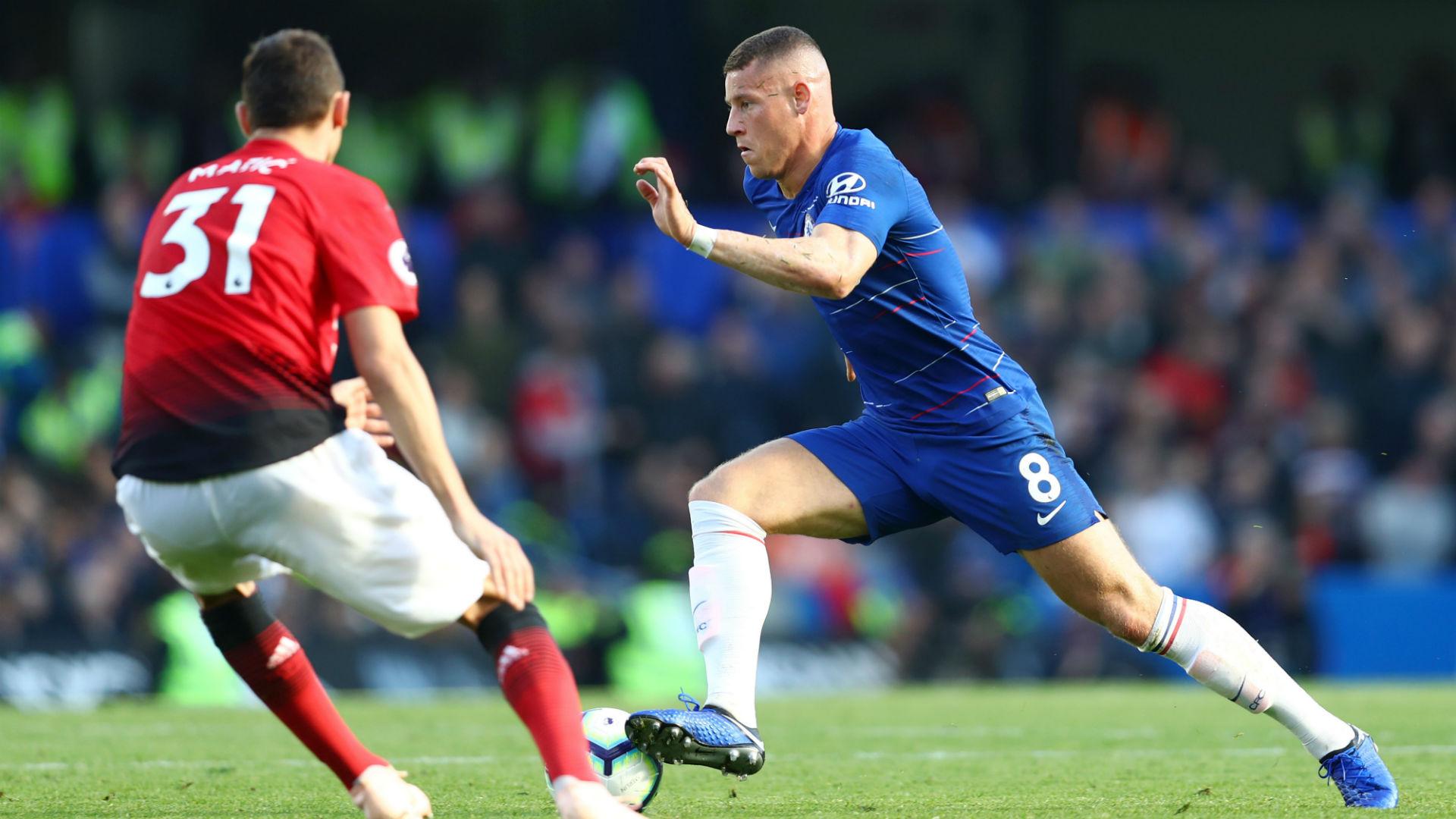 Ross Barkley Chelsea Manchester United 201018