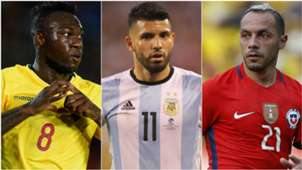 Ausentes fecha 17 Eliminatorias Sudamericanas