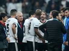 Besiktas players argue