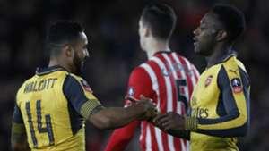 Theo Walcott Danny Welbeck Arsenal