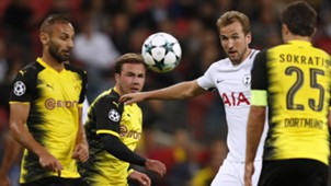 Toprak, Götze, Kane, Sokratis, Tottenham - Dortmund, Champions League, 09132017