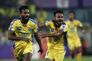 FC Pune City Kerala Blasters CK Vineeth