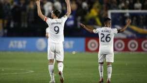 Zlatan Ibrahimovic Efraín Álvarez Galaxy 050719