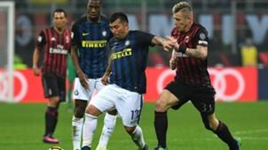 Gary Medel Juraj Kucka Milan Inter