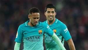 Neymar Luis Suarez Barcelona 05012017