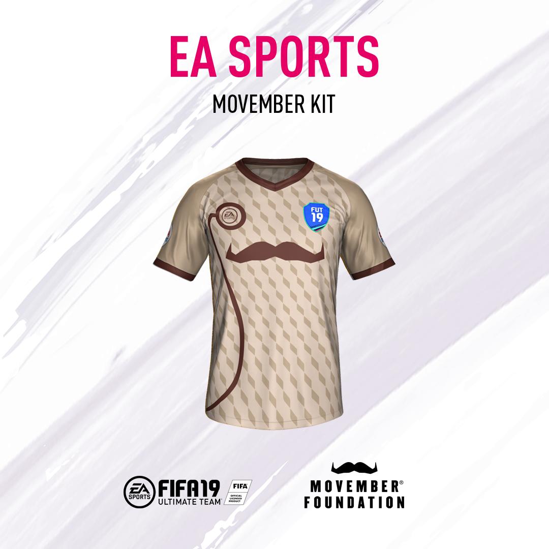 FIFA19 Movember kit