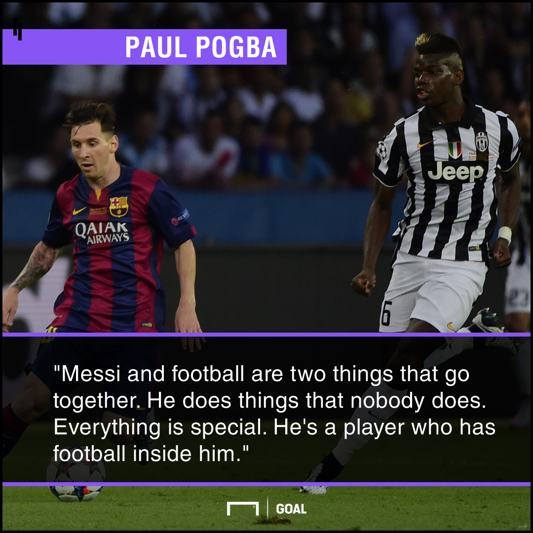Paul Pogba Lionel Messi special