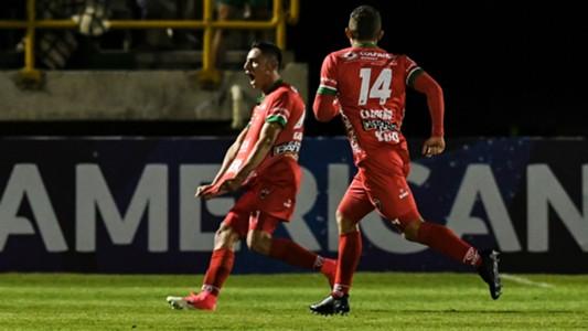 Patriotas de Boyacá gol vs Corinthians Copa Sudamericana 28062017