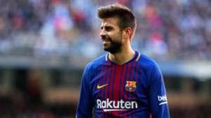 Gerard Pique Real Madrid Barcelona El Clásico LaLiga 23122017