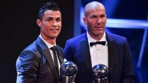 FIFA The Best 2017 Ronaldo Zidane