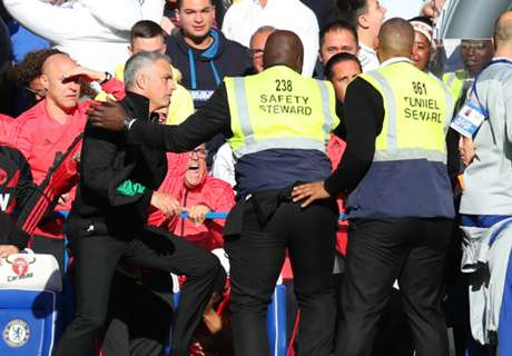 Chelsea coach Ianni charged over Mourinho bust-up