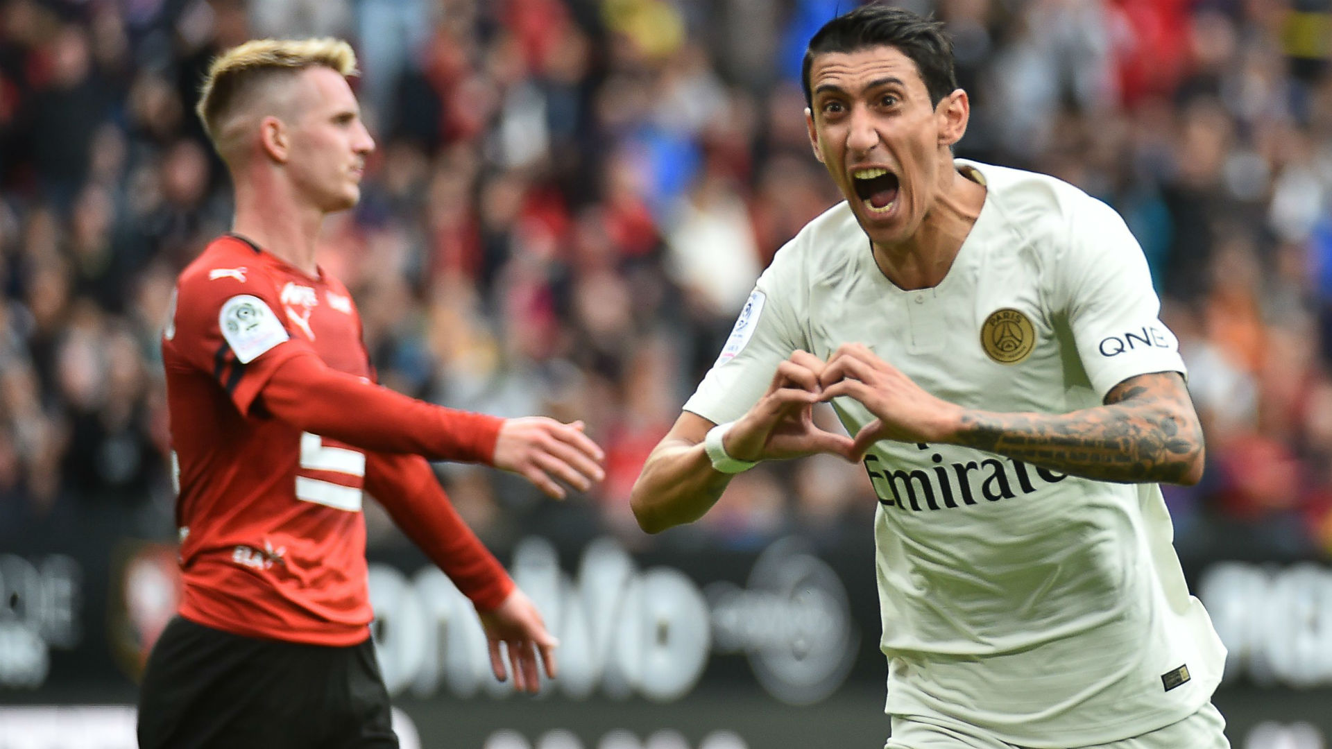 Angel Di Maria Rennes PSG Ligue 1 23092018