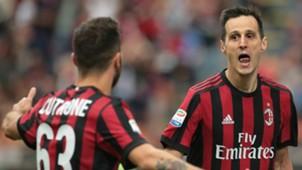 Kalinic Milan Fiorentina