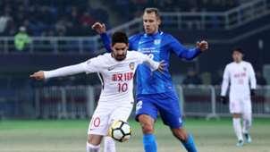 Alexandre Pato Tianjin Quanjian Kitchee AFC Champions League