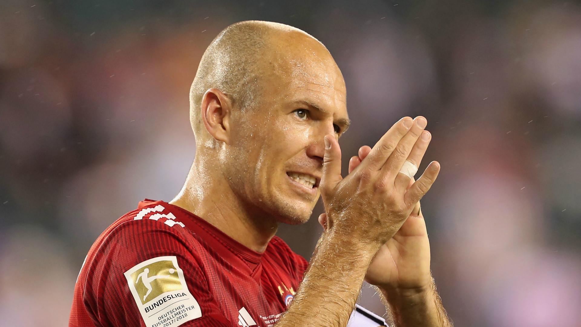 Arjen Robben Bayern Munich 2018