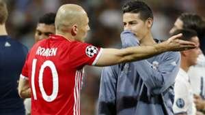 GER ONLY Arjen Robben Thiago Alcantara Bayern München Real Madrid