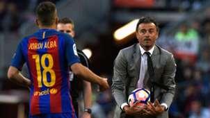 Jordi Alba Luis Enrique Barcelona