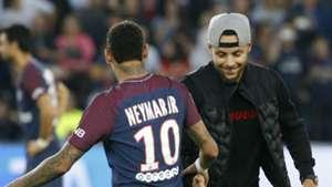Stephen Curry Neymar PSG Ligue 1