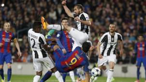Giorgio Chiellini Barcelona Juventus
