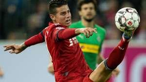 James Rodriguez Bayern Munich Copa Telekom 2019