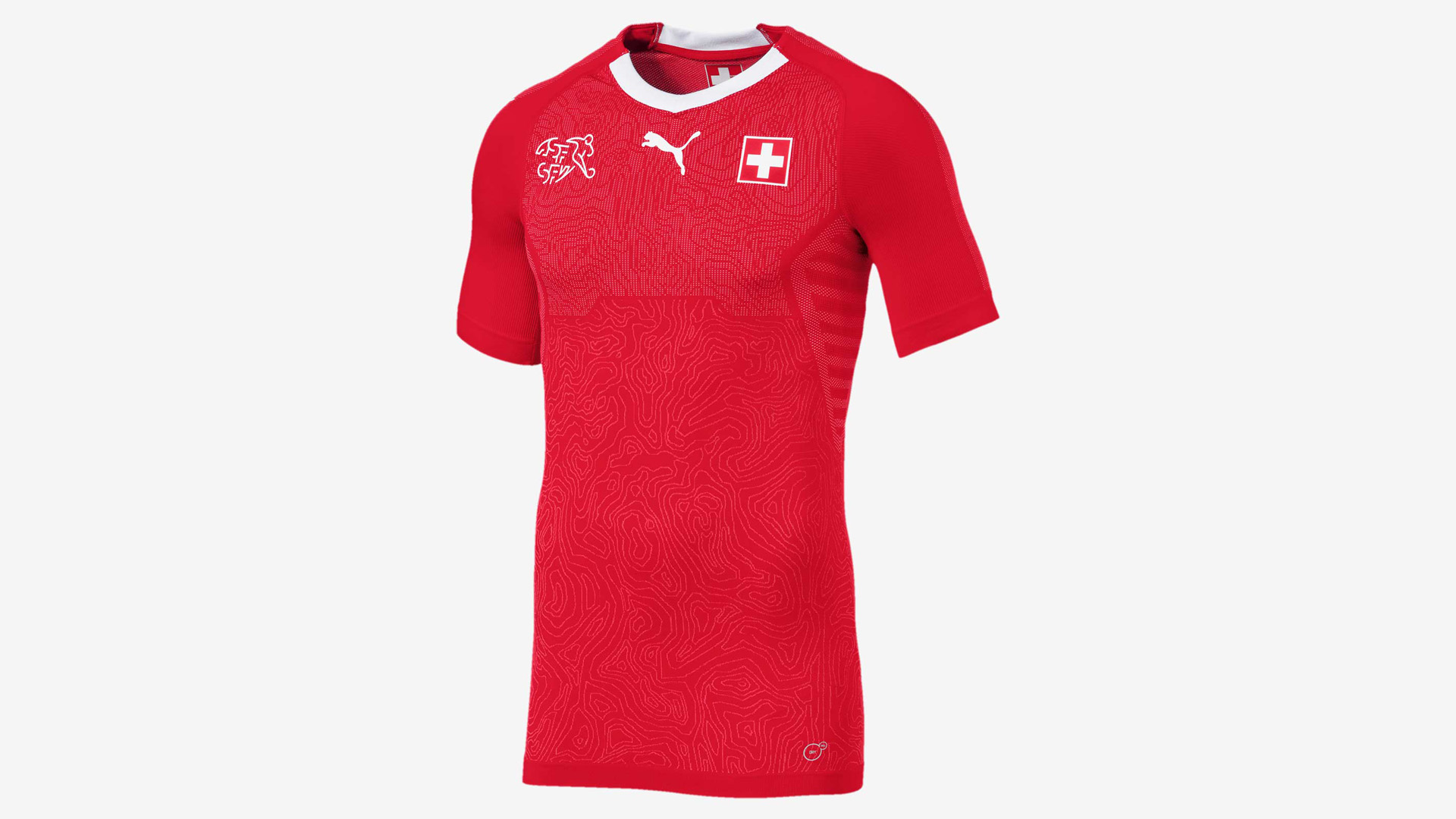 Suiza Camiseta Titular Switzerland Home Kit 2018 ed4379f0e4f