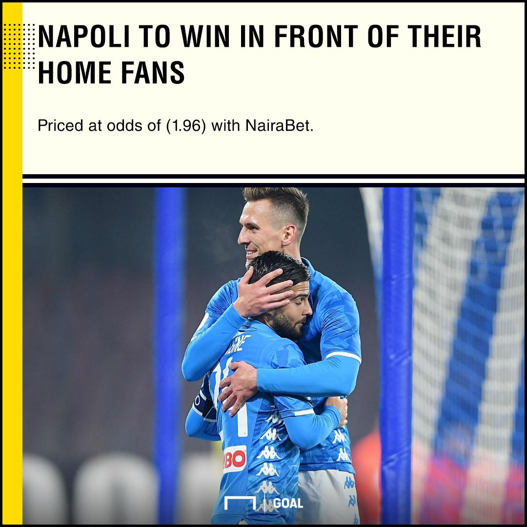 NairaBet Preview: Napoli vs Lazio: Bank on Carlo Ancelotti's wards to come out on top