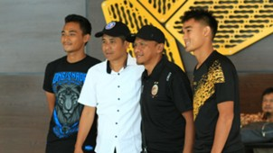 Jumpa Pers Arema FC & Sriwijaya FC Rahmad Darmawan & Joko Susilo