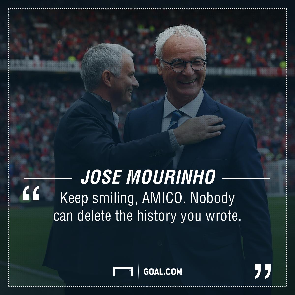 Claudio Ranieri Jose Mourinho PS