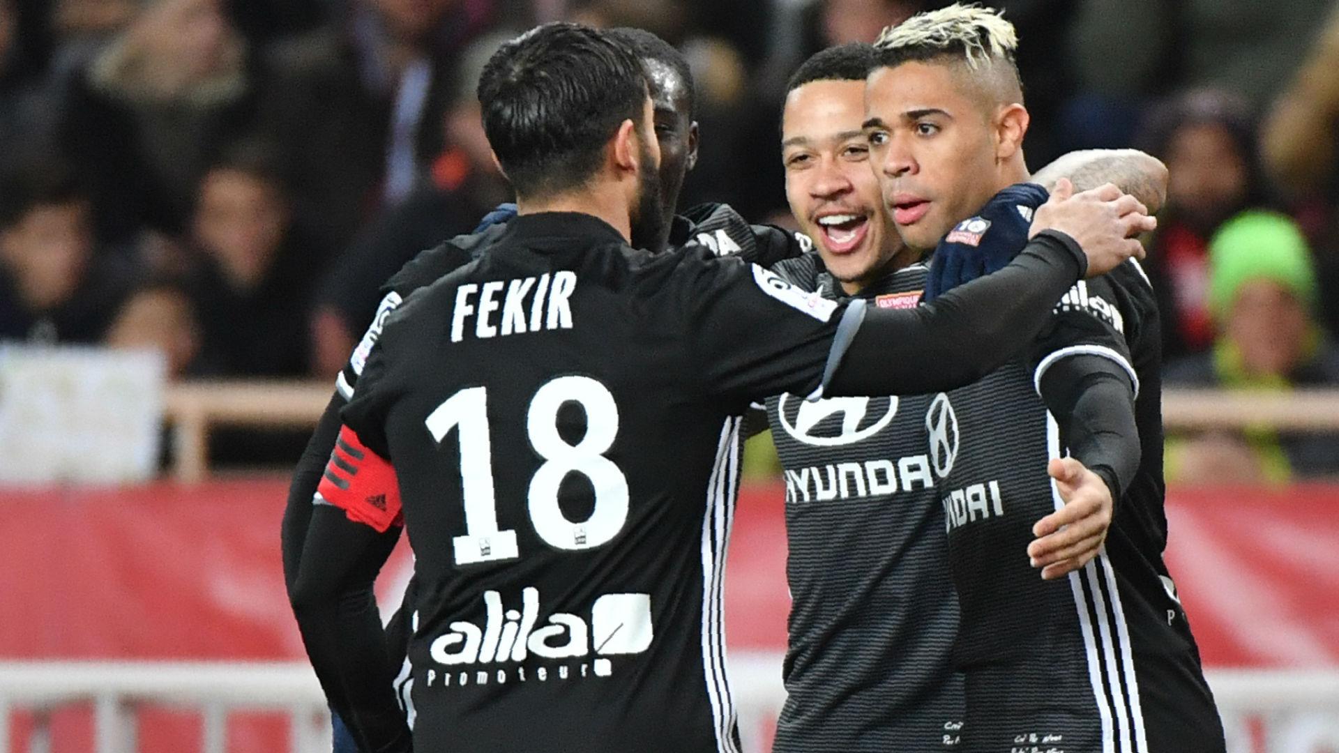 Mariano Diaz Monaco Lyon Ligue 1 04022018