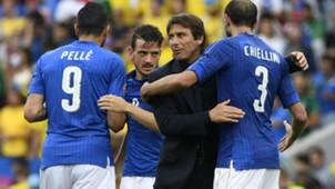 Antonio Conte Giorgio Chiellini Italy European Championship 17062016