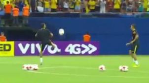 Neymar Gabriel Jesus Brasil